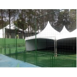 tenda de lona 3x3 Interlagos